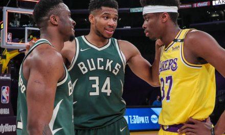 NBA, Antetokounmpo se reencuentran en Bucks-Lakers