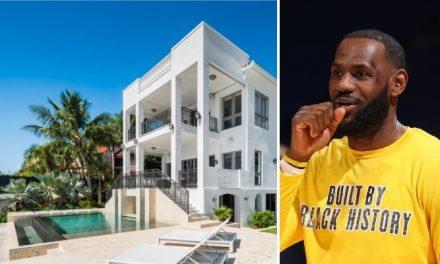 Se vende la sublime villa de LeBron en Miami, ¡la galería completa!