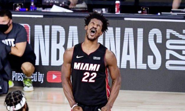 ¡Una loca foto de los monstruosos brazos de Jimmy Butler enciende la web!