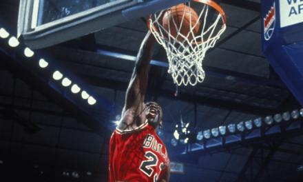¿Qué es el salto vertical de Michael Jordan?
