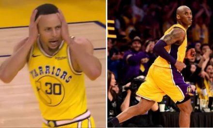 Curry sigue los pasos de Kobe en una estadística increíble