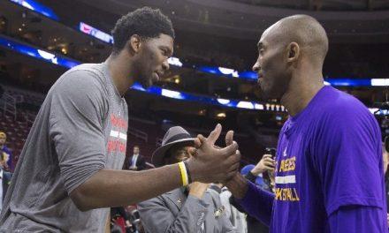 Joel Embiid agradece … a Kobe Bryant por su éxito