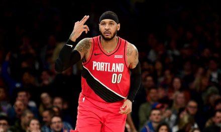 """NBA, Carmelo Anthony carga para el Juego 4: """"Obligado a ganar"""""""