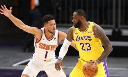 """NBA, Devin Booker y la victoria sobre los Lakers: """"Llevo 6 años esperando este momento"""""""
