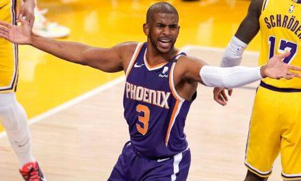 """NBA, Phoenix pierde y CP3 vuelve a lesionarse: """"Hay que superar las dificultades"""""""