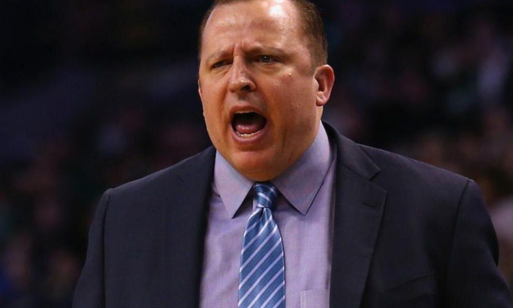 """NBA, entrenador Thibodeau: """"Los rebotes son un problema, tenemos que solucionarlo"""""""
