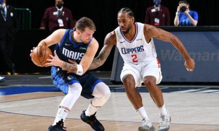 NBA, Doncic estará en el campo en el Juego 4, Ibaka aún fuera