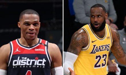 El canje que podría enviar a Westbrook a los Lakers según medios estadounidenses