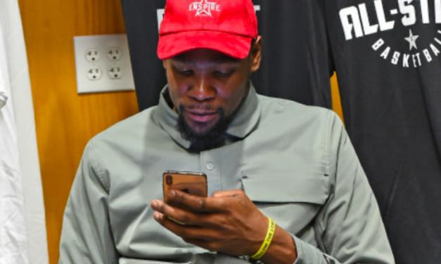 El tuit asesino y viral de Kevin Durant contra un periodista sobre los playoffs