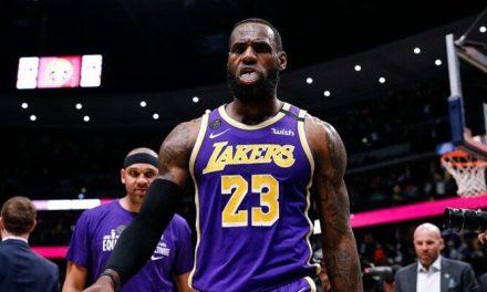 La muy fuerte reacción de LeBron ante la humillación sufrida por los Lakers