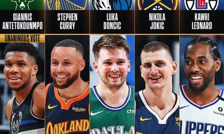 Los quintetos All-NBA 2020-21: todos los nombres