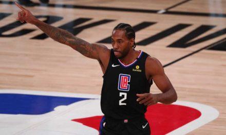 NBA, Kawhi Leonard comenta sobre la nueva derrota en el Juego 2 ante Utah