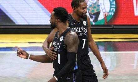 NBA, Kevin Durant listo para el Juego 5 incluso sin Irving y Harden