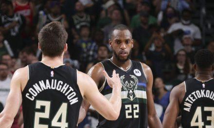 NBA, Middleton y Budenholzer comentan sobre la victoria de Milwaukee en la Carrera 6