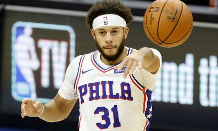 """NBA, Seth Curry es el héroe de Filadelfia e incluso Stephen se queda """"sin palabras"""""""