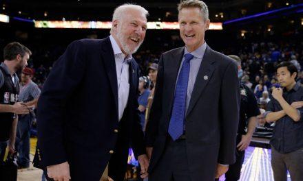 """NBA, Steve Kerr: """"Los años de los Spurs fueron fantásticos"""""""