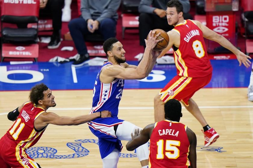 """NBA, Ben Simmons quiere marcar a Young: """"Si los árbitros me conceden …"""""""
