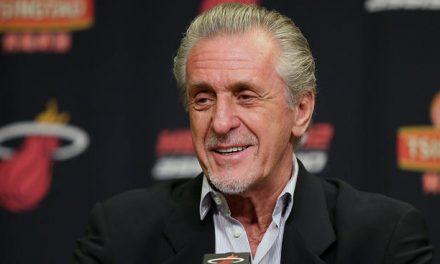 """Pat Riley sobre la línea de LeBron: """"Miami cansado: año difícil para todos"""""""