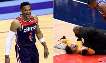 Westbrook, Beal, Young: las estrellas reaccionan a un nuevo incidente con un fan