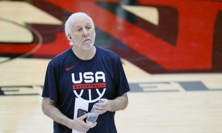 La racha muy tensa entre Gregg Popovich y un periodista tras la pérdida del equipo de EE. UU.