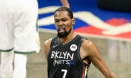 Kevin Durant cash al discutir el futuro de los 3 grandes en los Nets