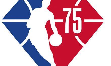 La NBA cumple 75 años: el logo se convierte en un diamante