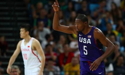"""NBA, Kevin Durant en el equipo de Estados Unidos: """"Las dos primeras derrotas nos hicieron bien"""""""