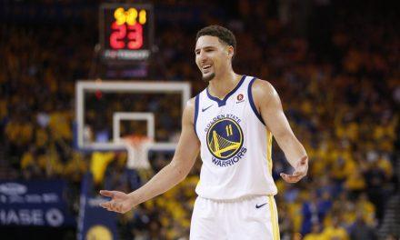 NBA, Klay Thompson autorizado para entrenar en la cancha