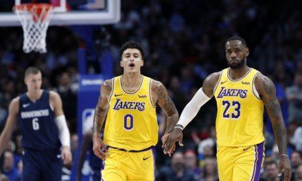 """NBA, Kyle Kuzma en temporada baja reducida: """"Nos pagan mucho para salir al campo"""""""