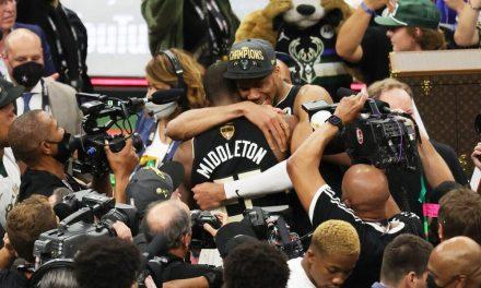 NBA, las imágenes del desfile de los Milwaukee Bucks