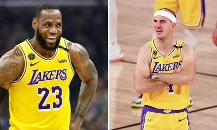 ¡Alex Caruso deja a los Lakers y firma en el Este!