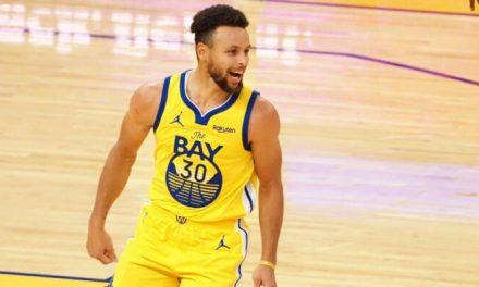 Clase, Steph Curry hace un lindo gesto para un excompañero de equipo