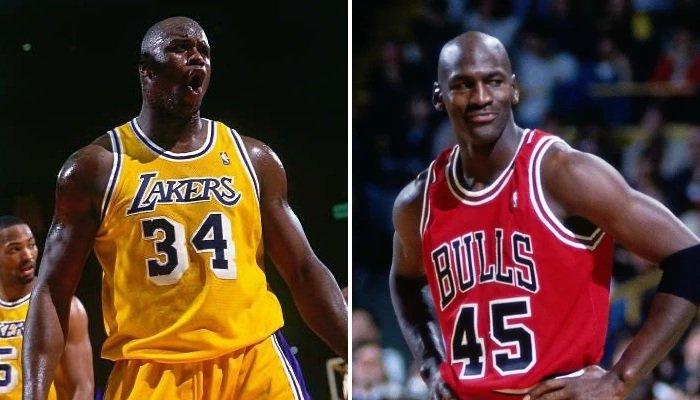 La loca hazaña que comparten Michael Jordan y Shaq