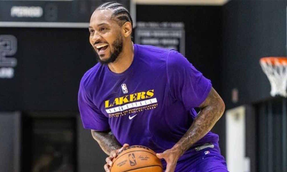 """NBA, Carmelo Anthony sobre los Lakers: """"¿Panchinaro? Haré lo que sea necesario para ganar"""""""